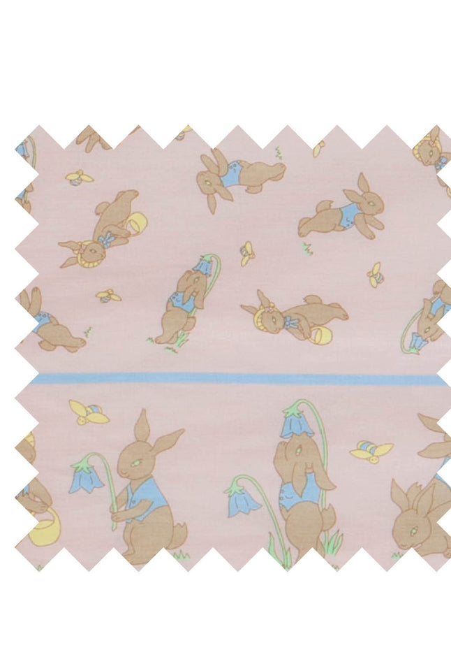 Pink Rabbit fabric