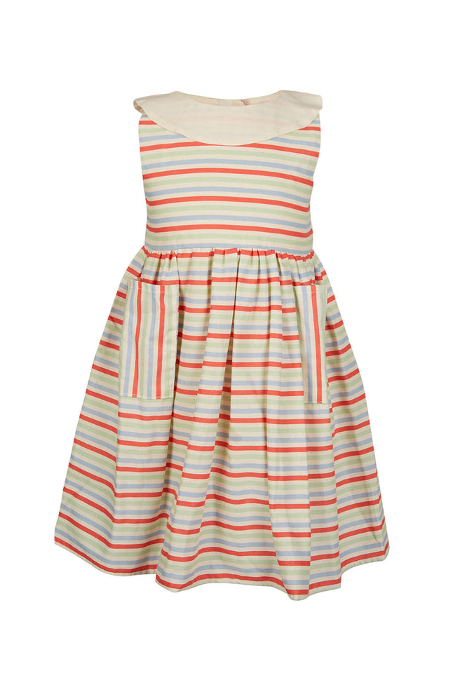 Archive sale  - lilly dress - Seaside stripe primary