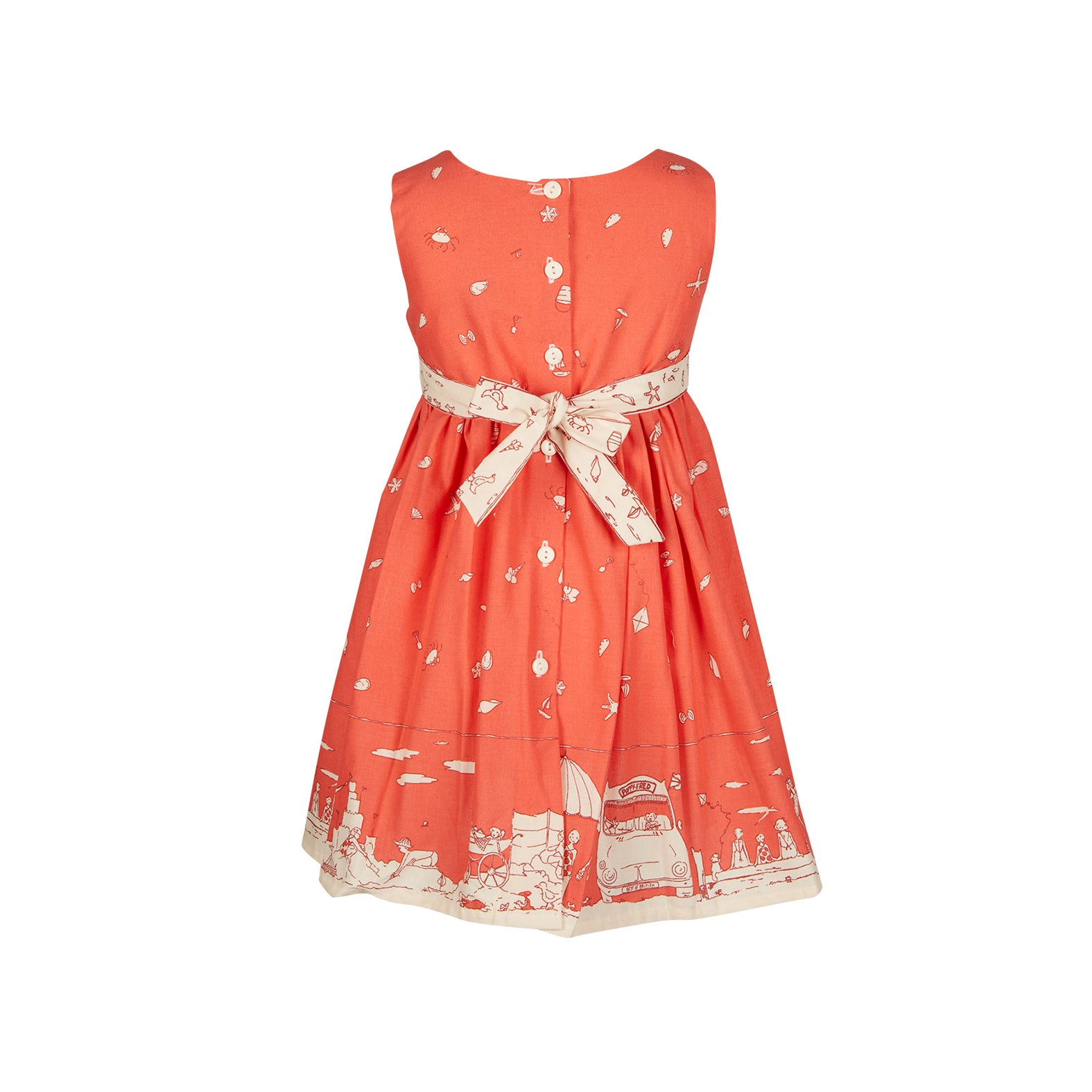 Archive sale - Martha Dress - Seaside Red