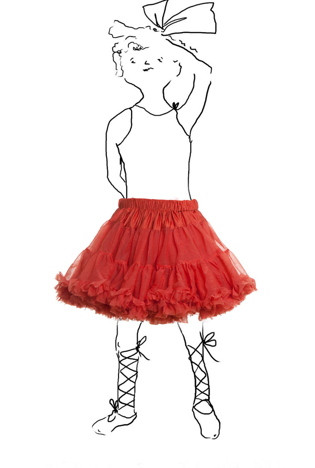 Children's Petticoat - Burnt Orange