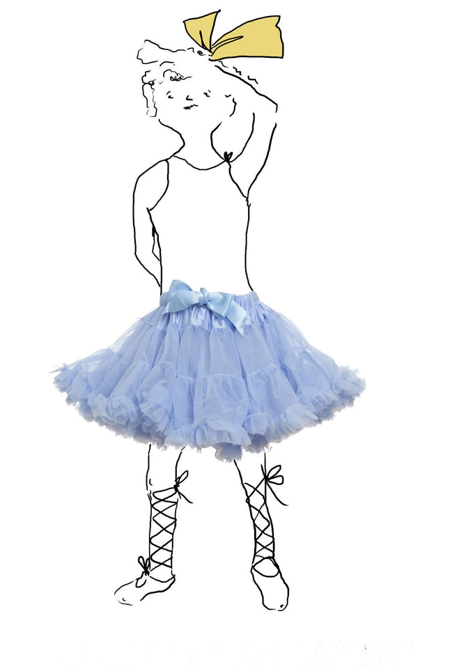 Children's Petticoat - Sky Blue