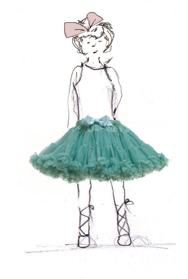 Children's Petticoat - Sea Blue - Palava