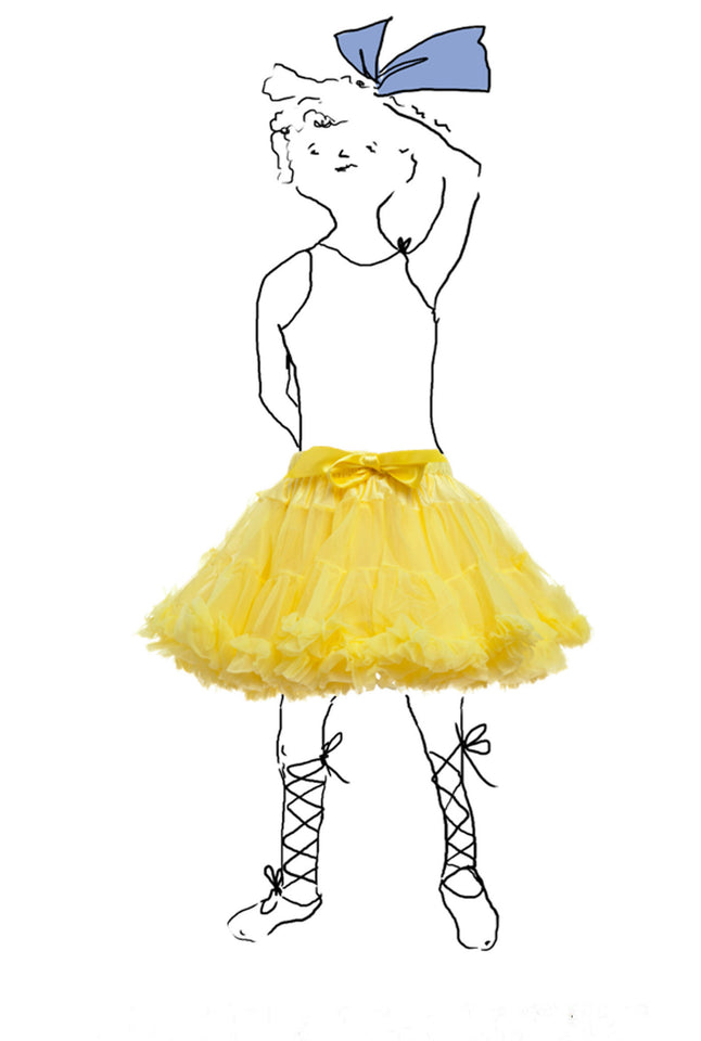 Children's Petticoats - Yellow - Palava