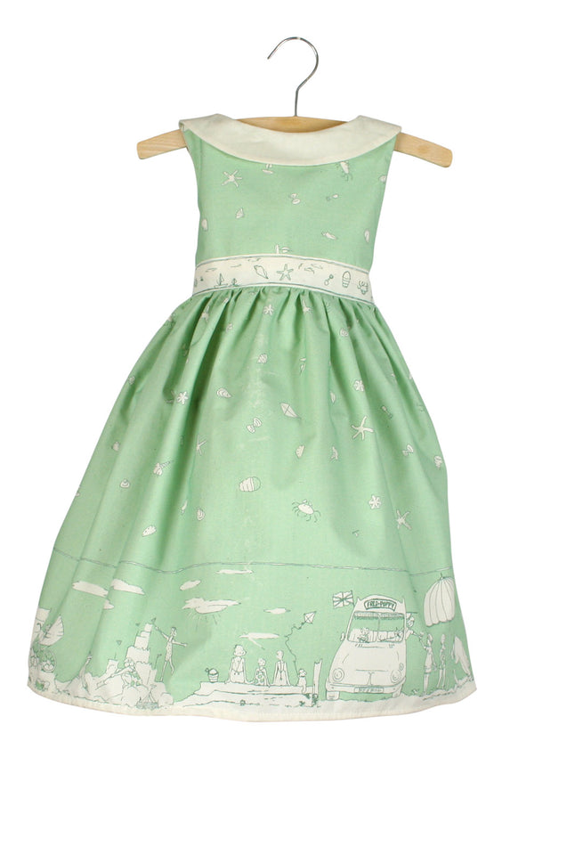 Archive sale -  lilly dress - Seaside green