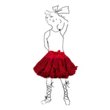 Children's Petticoat - Sparkly Red - Palava