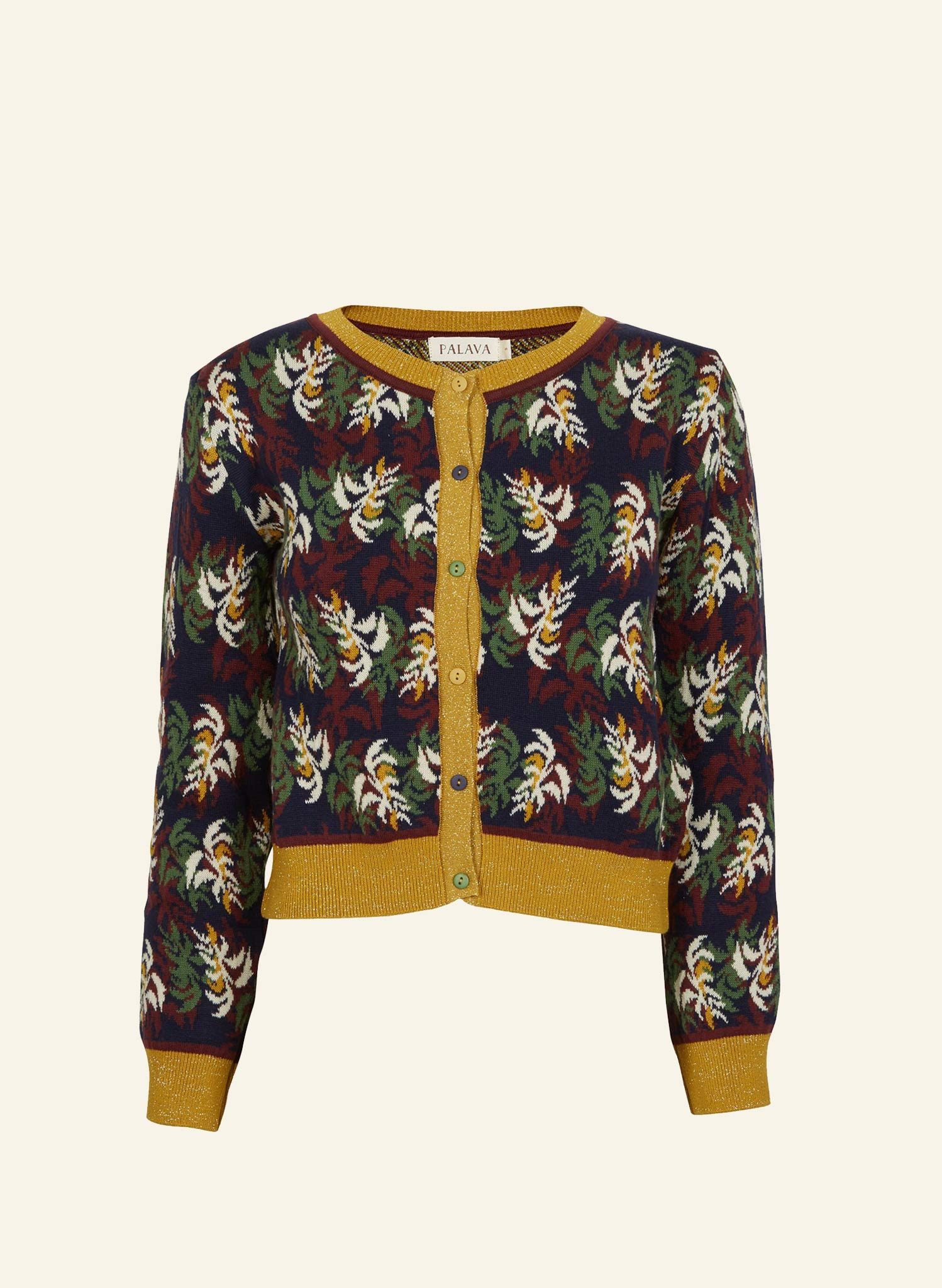 Vera - Multi Cabaret - Organic Cotton Cardigan