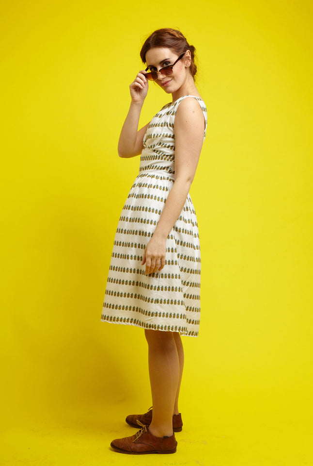 Palava Rose pineapple dress