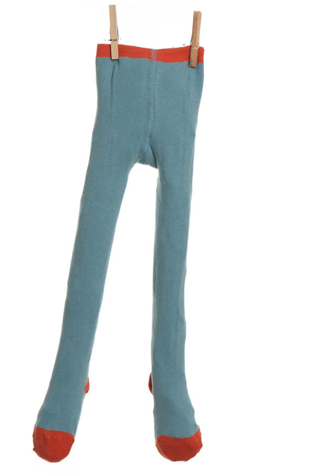 Children's Tights - Light Blue Plain - Palava