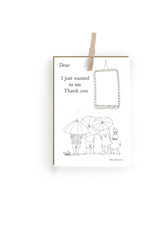 Greeting Card - Thank you - Palava