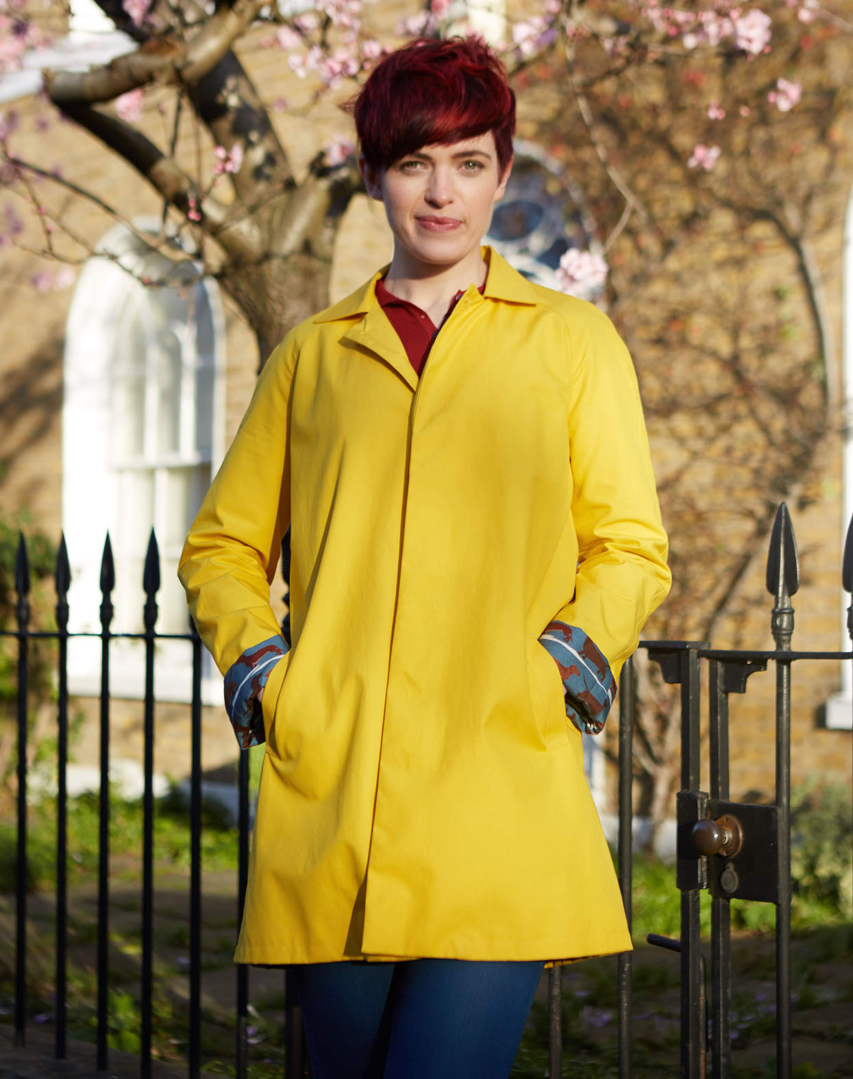 Trenchcoat - Buttercup Yellow