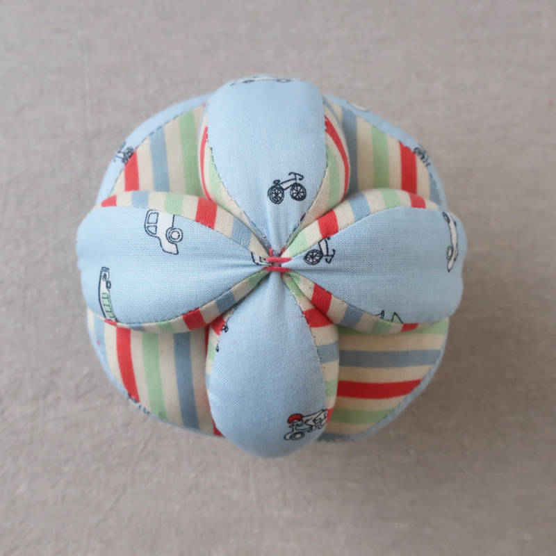 Photo of a handmade Amish Puzzle Ball
