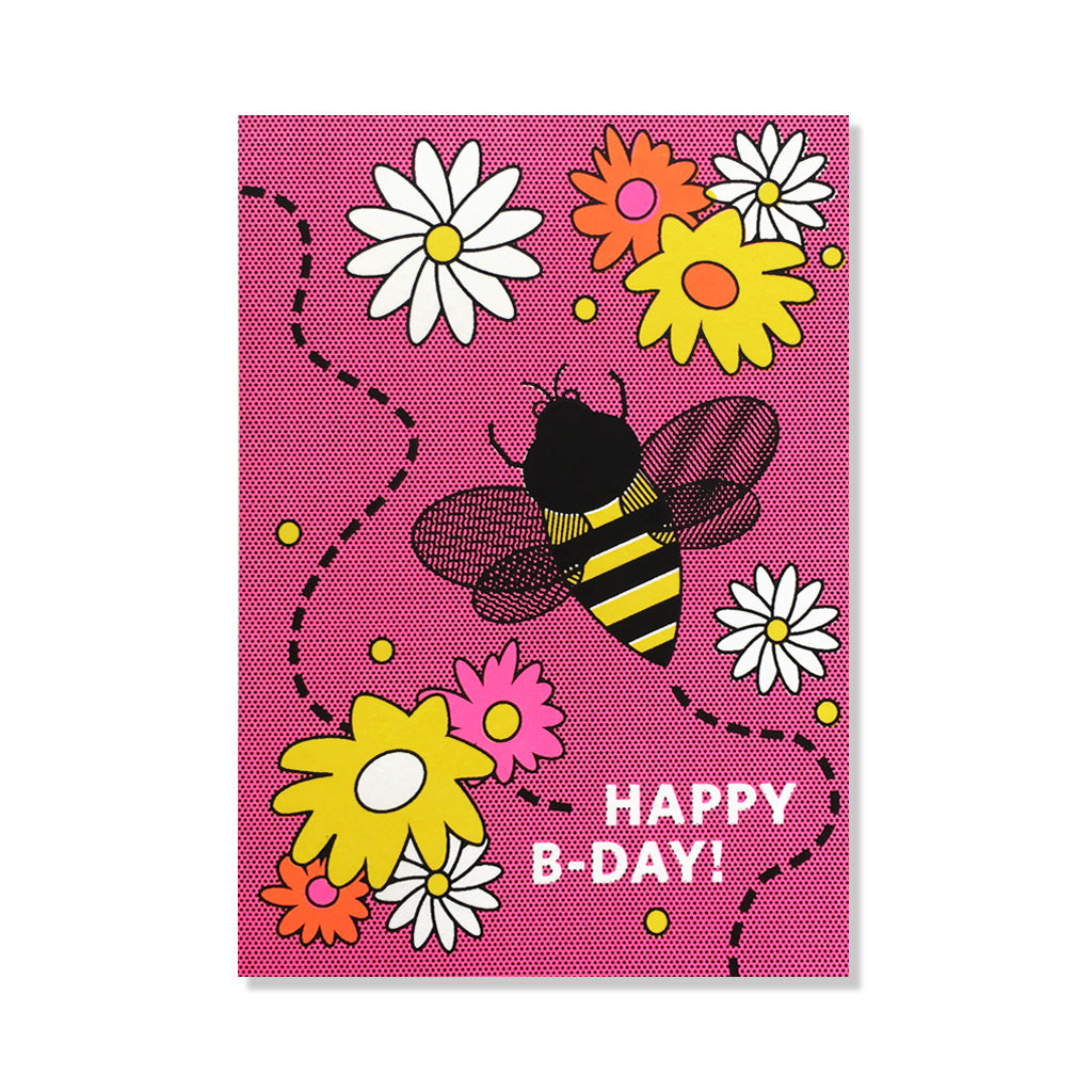 anne and kate birthday card bee day