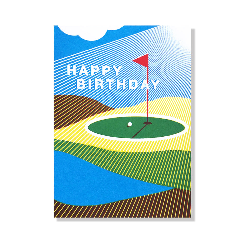 anne and kate birthday card golf