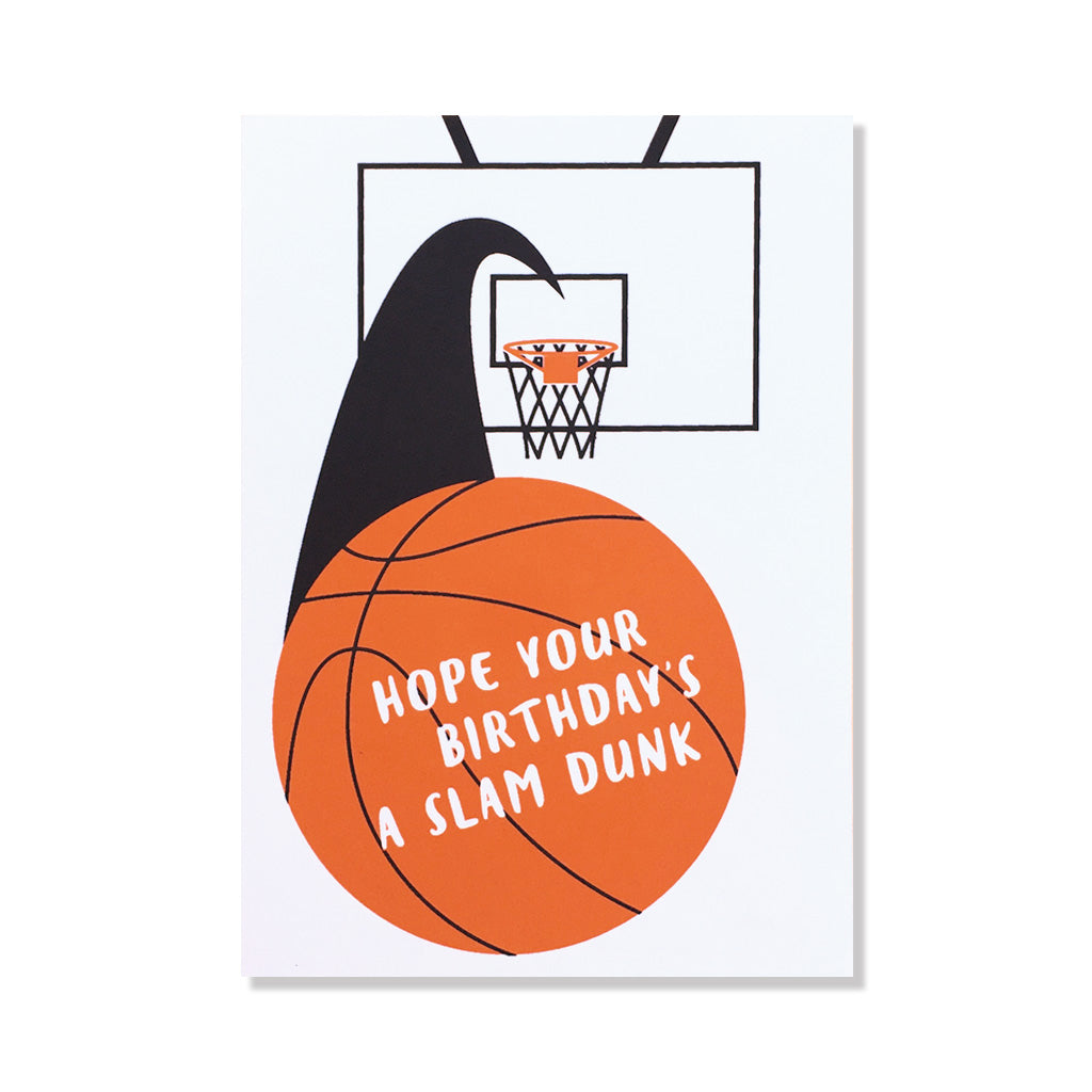 Slam Dunk Birthday Card
