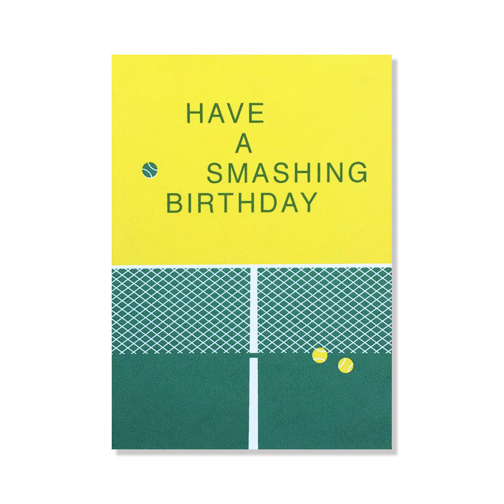 anne and kate birthday card tennis