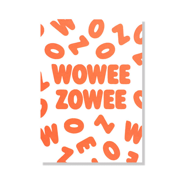 wowee zowee congratulations card