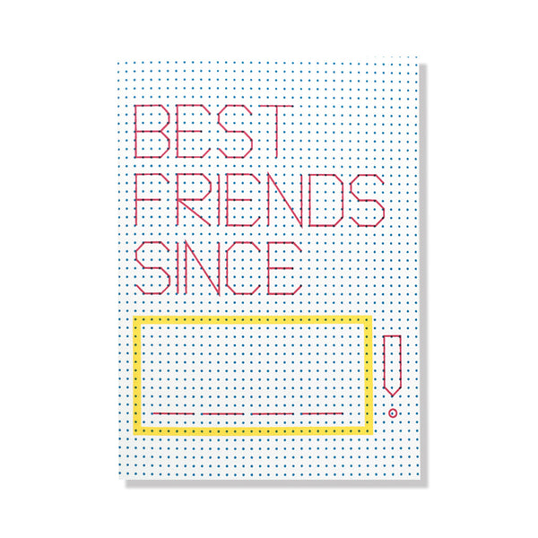 Connect the Dots Write-in BFFs Card