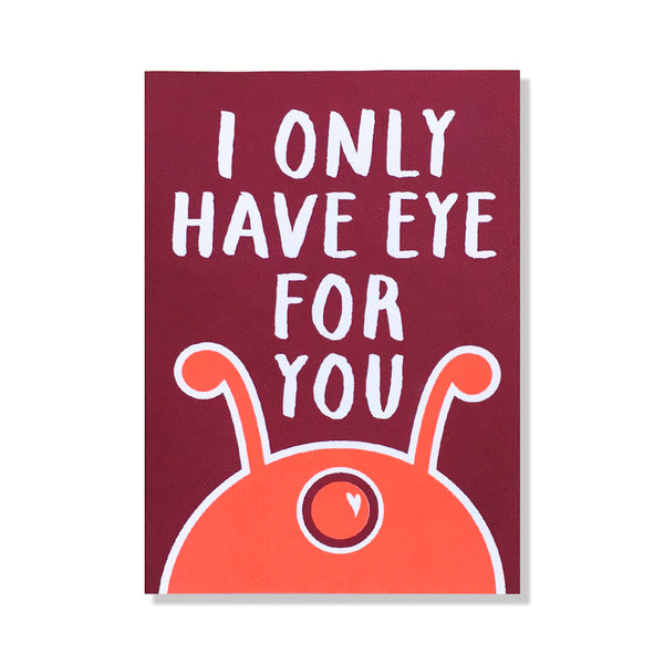 Eye For You Card