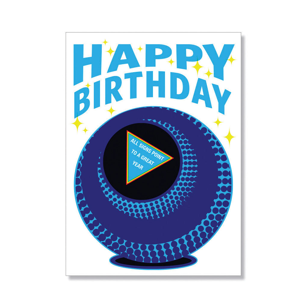 8-ball Birthday Card