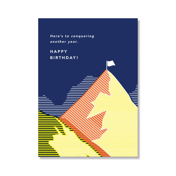 Mountain Birthday Card