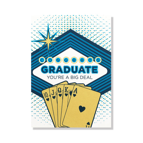 big deal graduation card