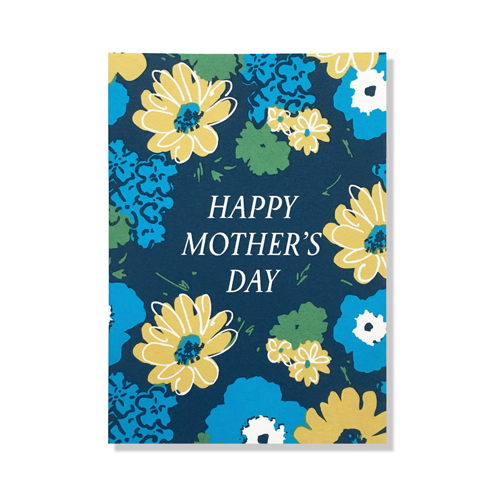 Happy Mothers Day Flowers Anne And Kate Screen Printed Stationery
