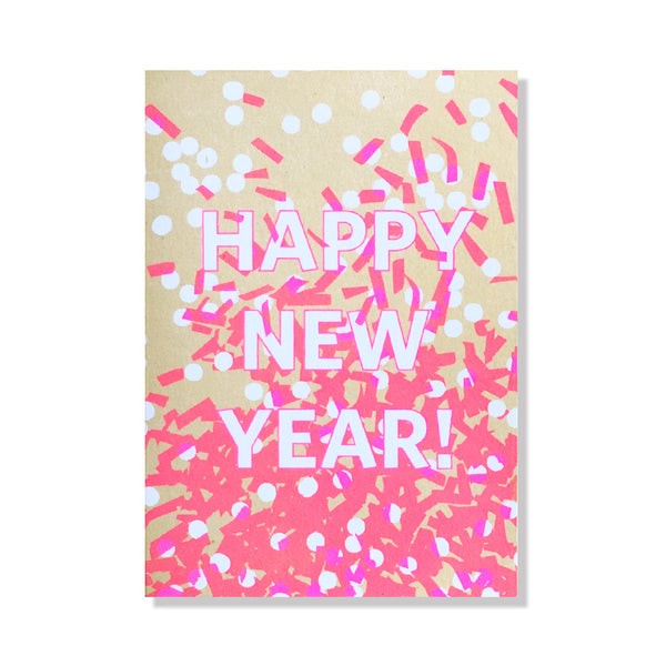 New Year Confetti Holiday Card