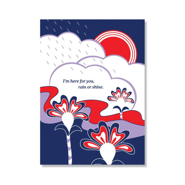 Rain or Shine Card