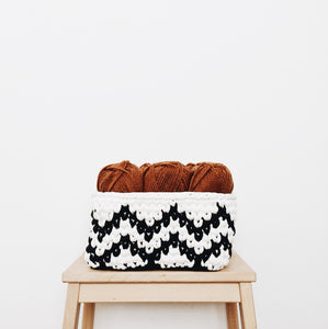 Simple Crochet Basket - Day 47