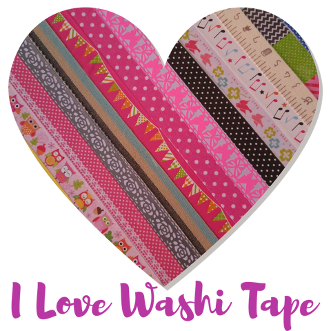 I Love Washi Tape by Bette Daoust