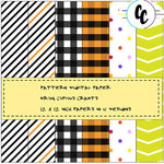 Patterns Abound Digital Paper Pack | Copious Crafts - Copious Crafts
