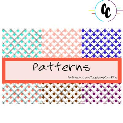 Patterns for Makers Digital Paper Pack | Copious Crafts