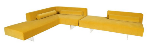 sectional sofa, couch, alexandivy, chic