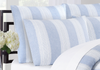 Vintage Stripe Washed Belgian Linen Duvet Cover