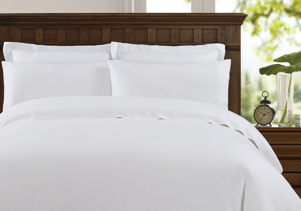 Washed Belgian Linen Duvet Cover