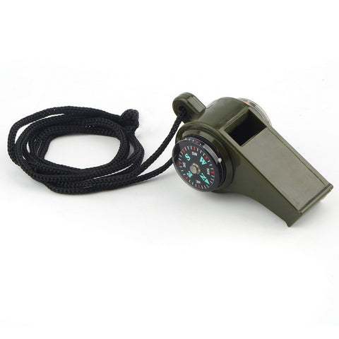 LiteGR 3 in 1 Whistle, Compass and Thermometer