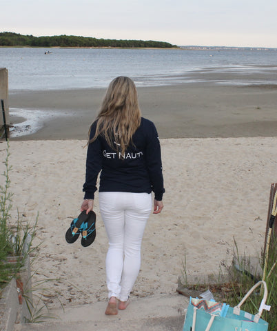 FREE Koozie with purchase of Mermaid Flip Flops and/or Get Nauti Long Sleeve!
