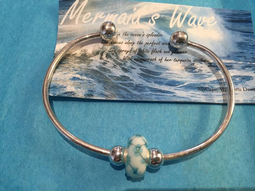 Mermaid's Wave MyCape/MyTown Designs BEAD ONLY - Mermaids on Cape Cod-Official Mermaid Gear