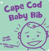 Cape Cod Baby Bib - Mermaids on Cape Cod-Official Mermaid Gear