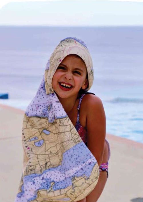 Cape Cod Baby Hooded Towel