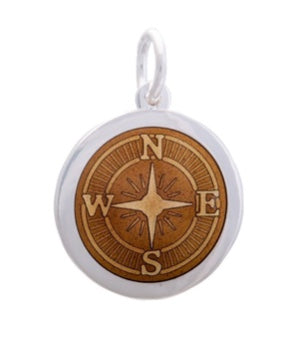 Compass Rose Medium (27 mm) - Mermaids on Cape Cod-Official Mermaid Gear