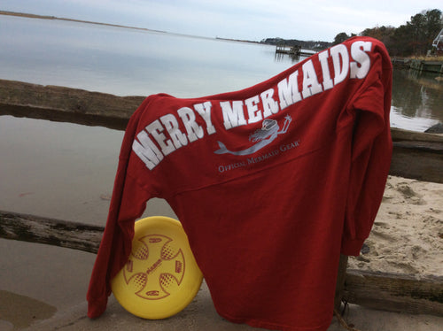 Merry Mermaids Spirit Jersey - Mermaids on Cape Cod-Official Mermaid Gear