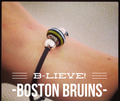 Boston Hockey Fan Bead MyCape/MyTown Designs - Mermaids on Cape Cod-Official Mermaid Gear