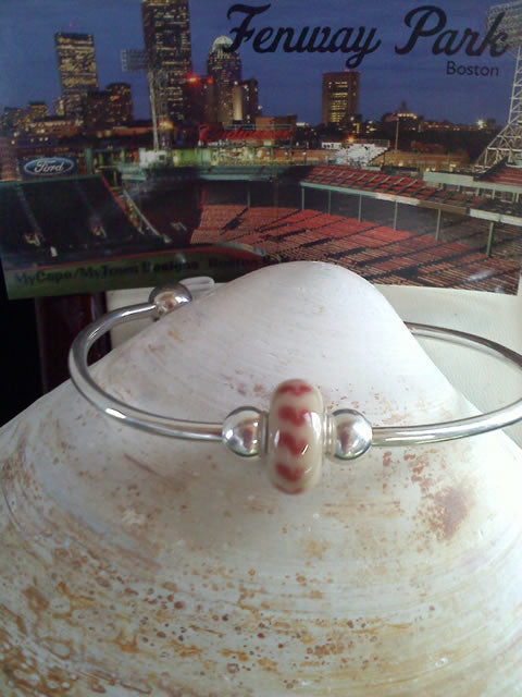 Boston Red Sox Fan Bead MyCape/MyTown Designs