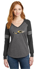 Mermaid B's Fan Gear Long Sleeve Tee - Mermaids on Cape Cod-Official Mermaid Gear