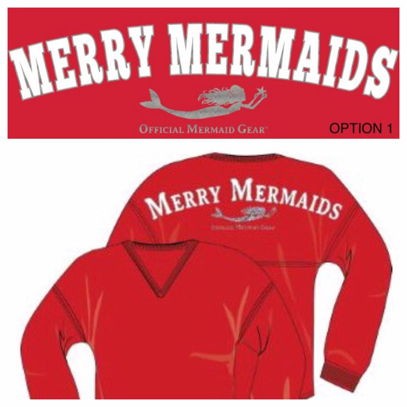 Merry Mermaids Spirit Jersey