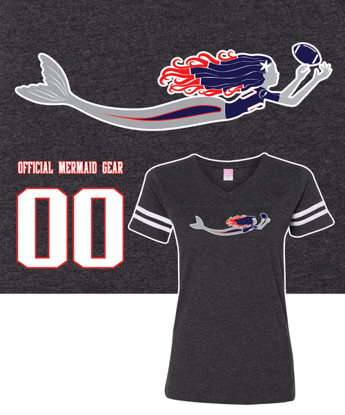 Mermaid Game Day Fan T-Shirt