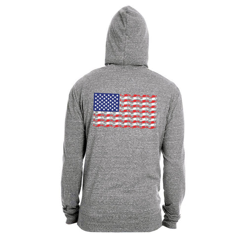 Mer-Merica the Beautiful Hoodie - Mermaids on Cape Cod-Official Mermaid Gear