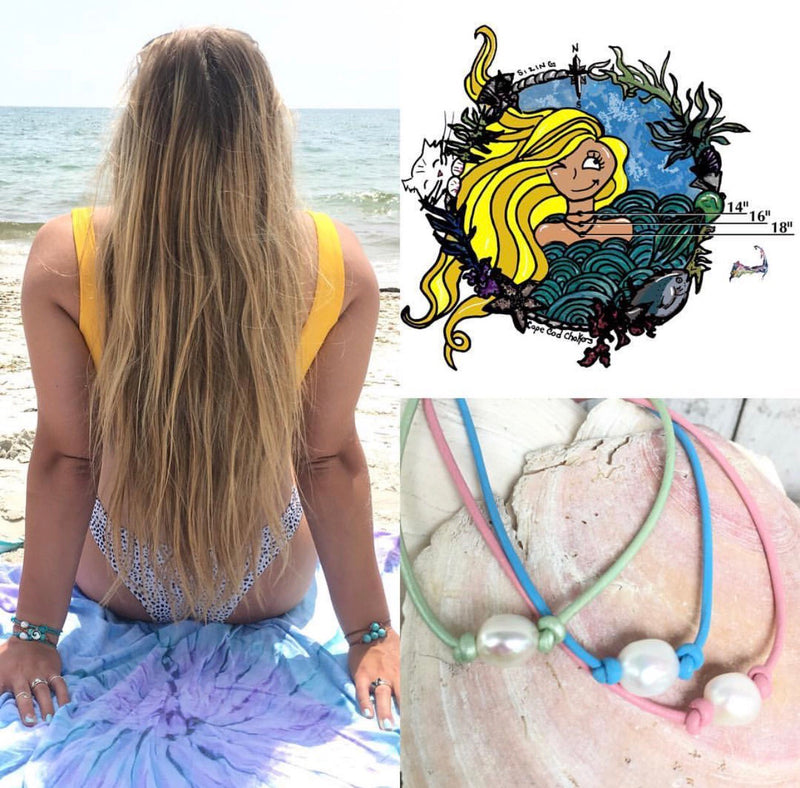 Cape Cod Bracelet Wraps - Mermaids on Cape Cod-Official Mermaid Gear