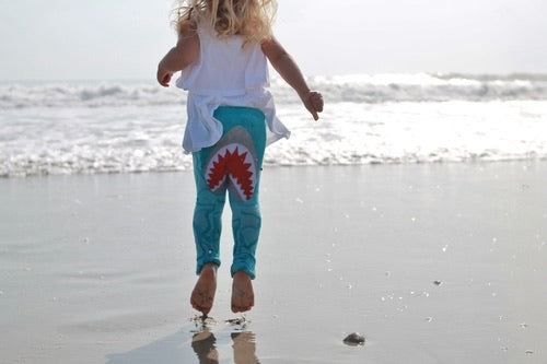 Baby Shark (Doo Doo) Leggings - Mermaids on Cape Cod-Official Mermaid Gear